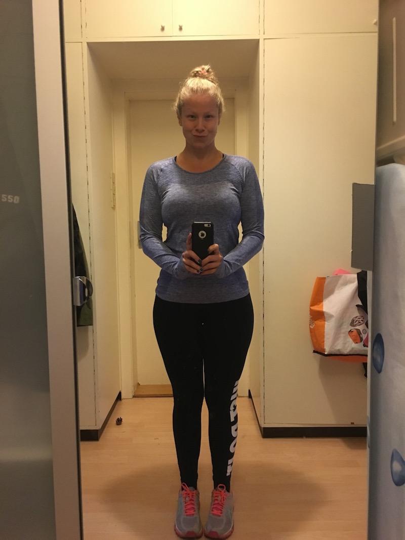 Barbara after losing 25 kg.