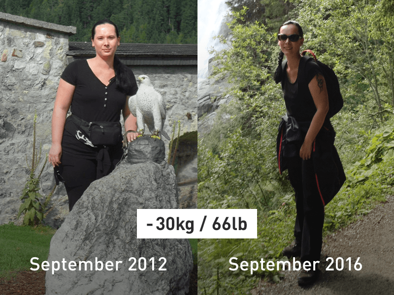 weight loss with Runtastic – Manuela lost 30 kg