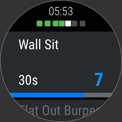 Android Wear: Mach dein Workout mit der Runtastic Results App