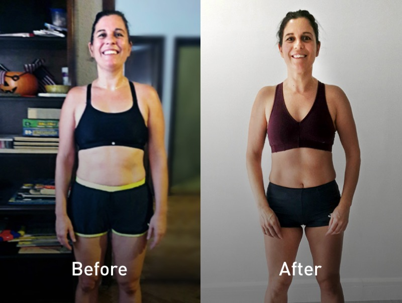 Belen lost weight with the Runtastic Results App