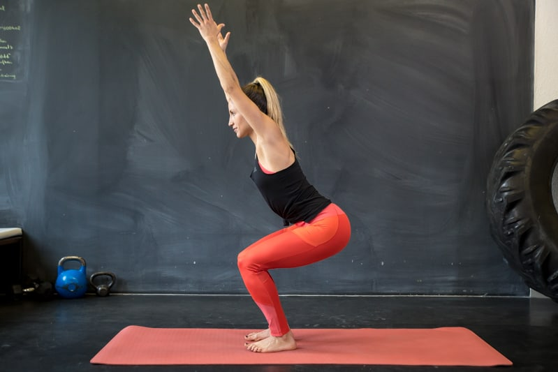 chair yoga übung