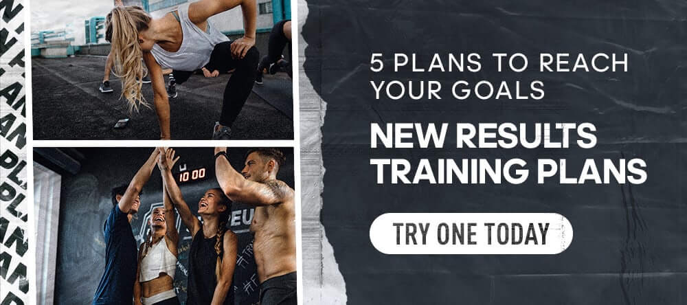 Results banner new training plans