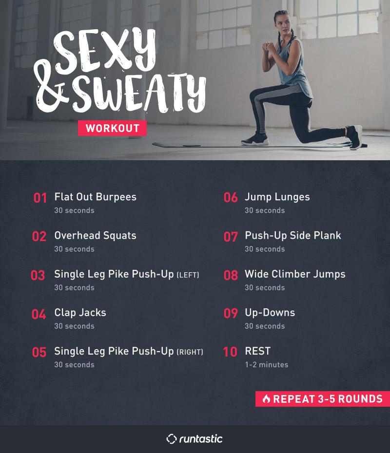 Top 8 Bodyweight Exercises For Women Bonus Sexy Sweaty Workout