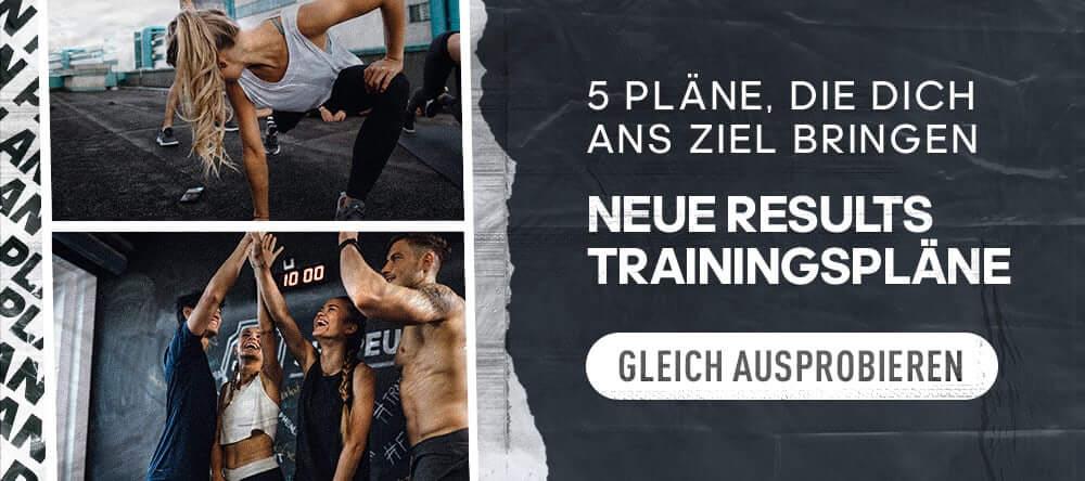 Banner Results training plan