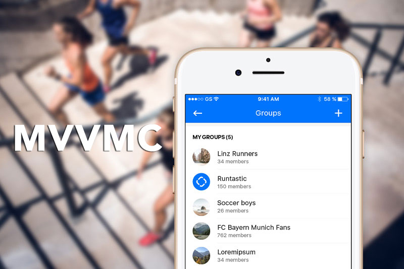MVVMC - Adapting the MVVM Design Pattern at Runtastic