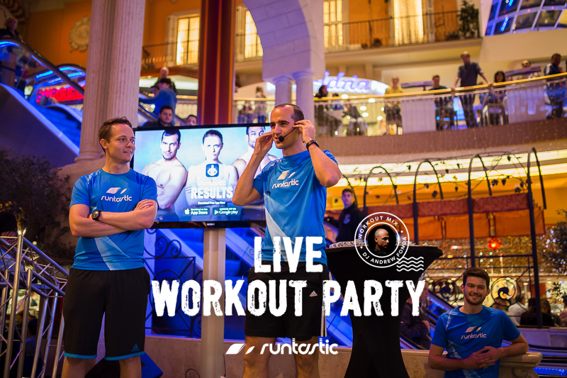 Runtastic Live Workout Party