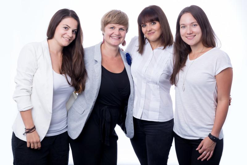 Runtastic HR Team Isabella, Monika, Xenia und Tanja