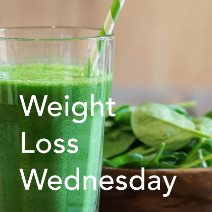 Weight Loss Wednesday image.