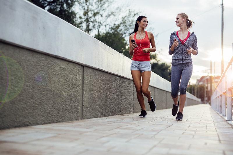 Laufen mit Freunden: Zusammen macht's mehr Spaß!