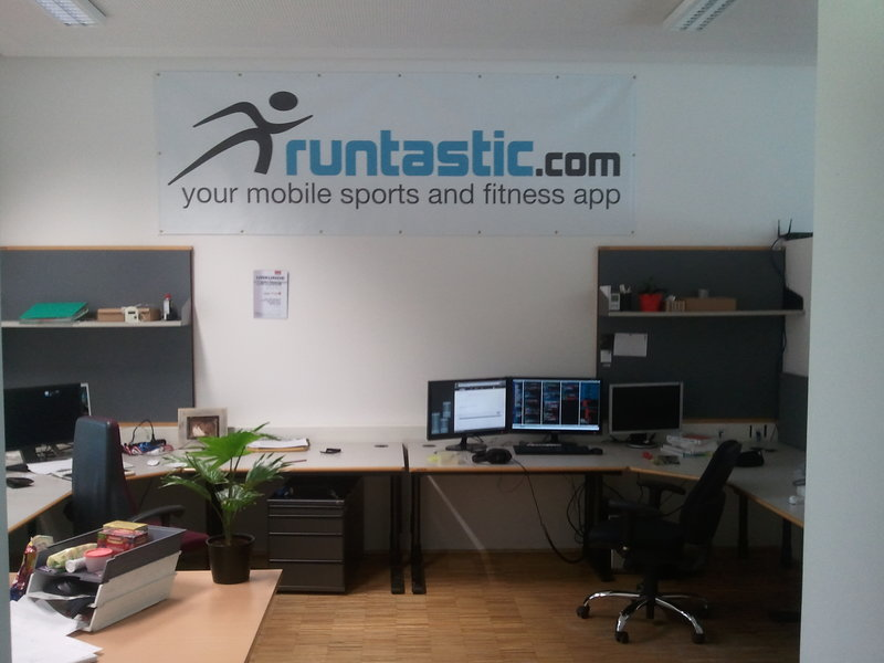 Runtastic office Damals.
