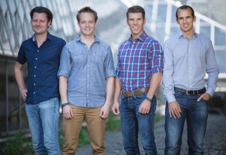 Runtastic founders.