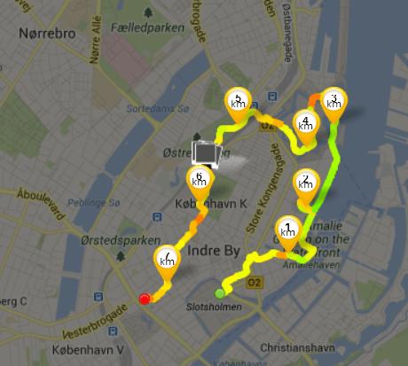 runtastic route