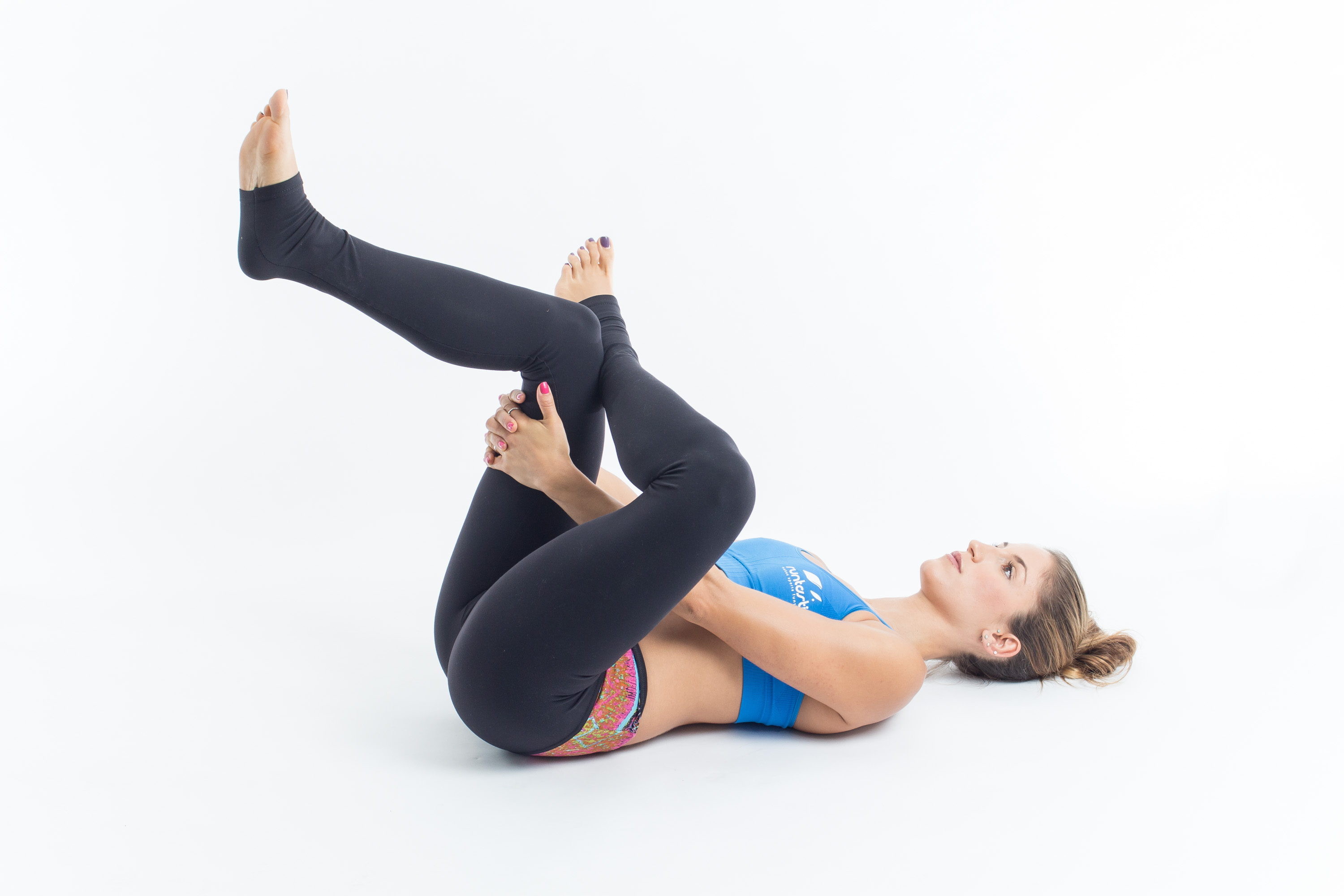 Yoga Poses for Runners - Reclining Pigeon