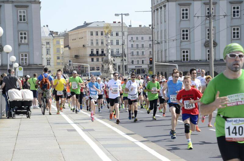 Image of the Linz marathon.