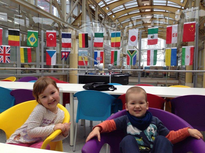 Children at Runtastic