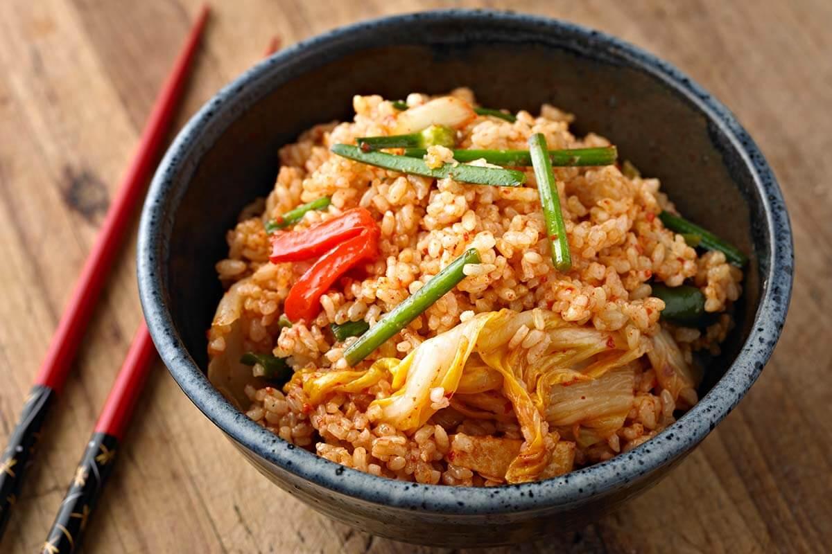Recette : Riz frit exotique aux légumes