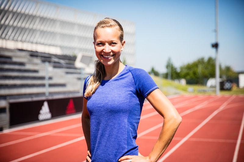 Gesa Bohn about running technique