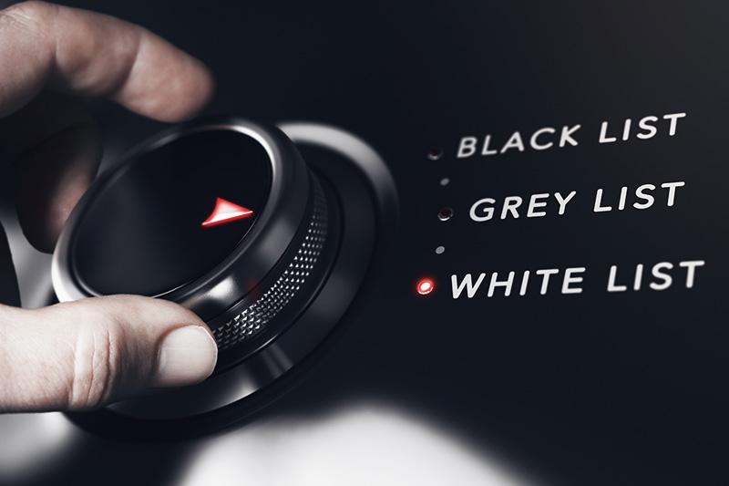 ember component blacklist whitelist