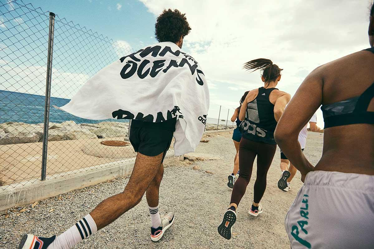 Run For The Oceans: Eine Gruppe an Läufern nimmt an der Veranstaltung teil