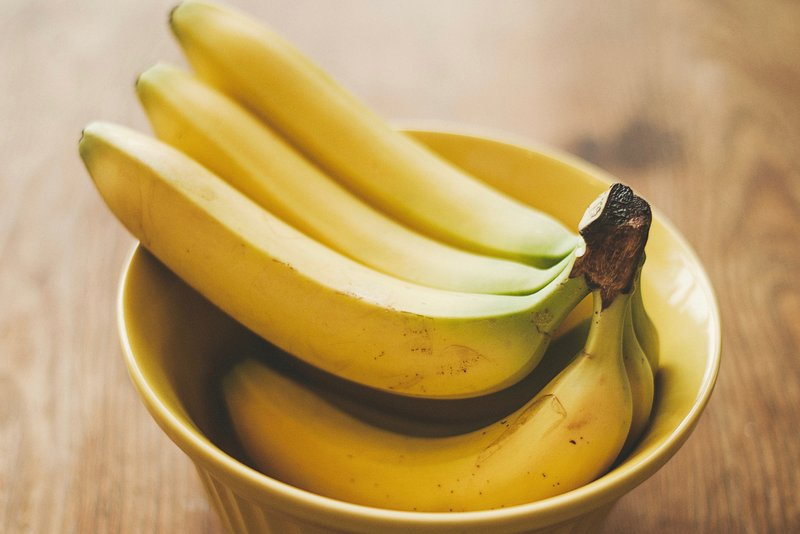 Bananas in a bowl