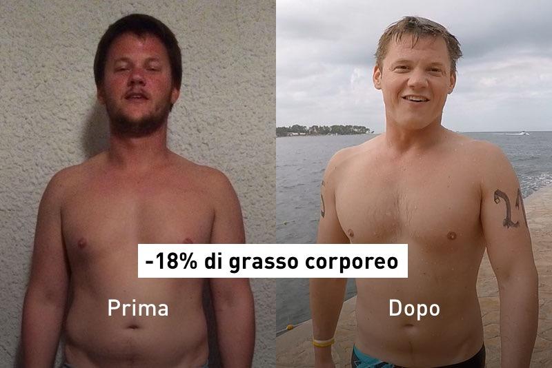 Vincent prima e dopo