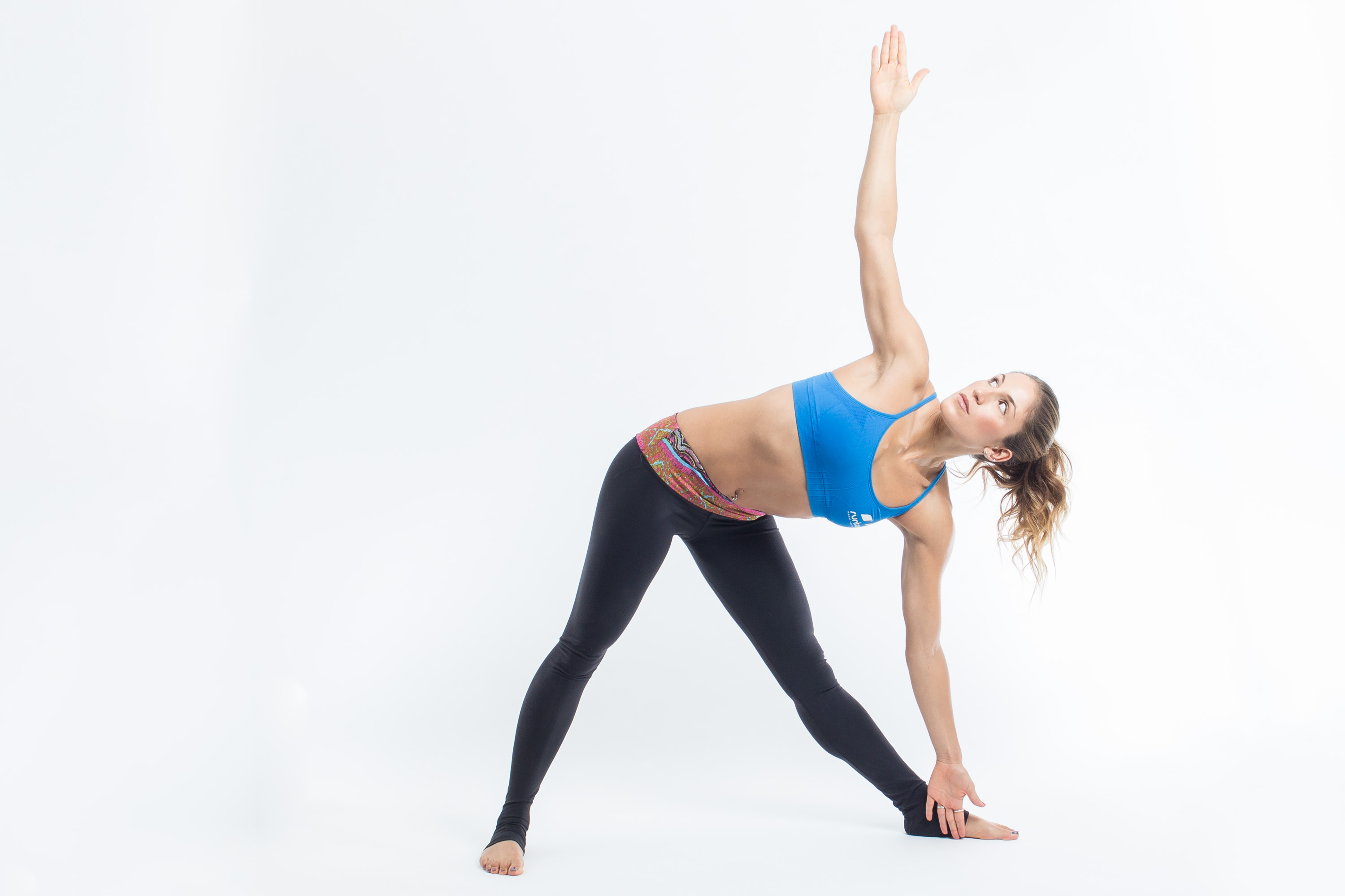 Yoga Poses for Runners - Triangle Pose