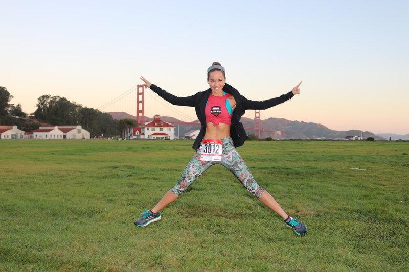 TV host Andrea Minski, Latina Action Hero from Miami, is running for RUN 10 FEED 10.