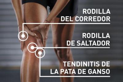 como aliviar el dolor de las rodillas despues de correr