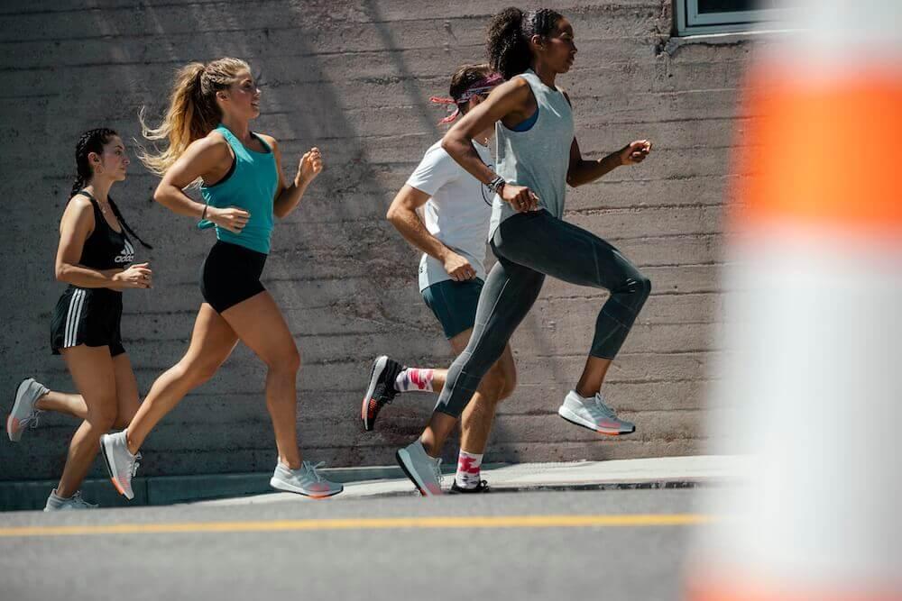 Correr y andar para adelgazar
