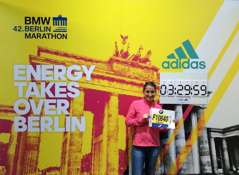 Preparation for Berlin-Marathon