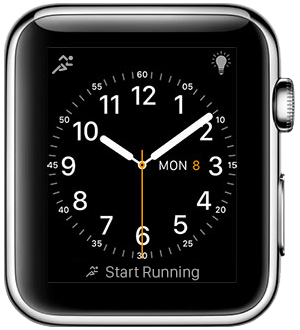 Apple Watch and Runtastic: new design, easier usage