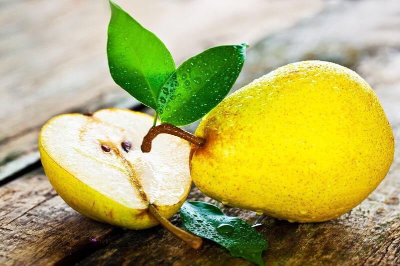 Die Birne ist eine der ballaststoffreichsten Obstsorten überhaupt