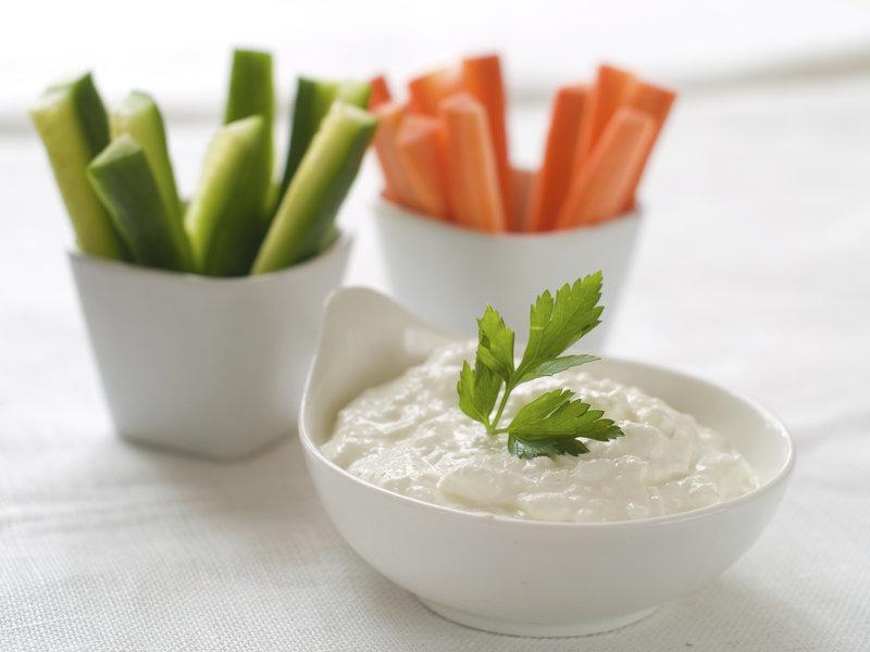 Comer bien: palitos de verduras