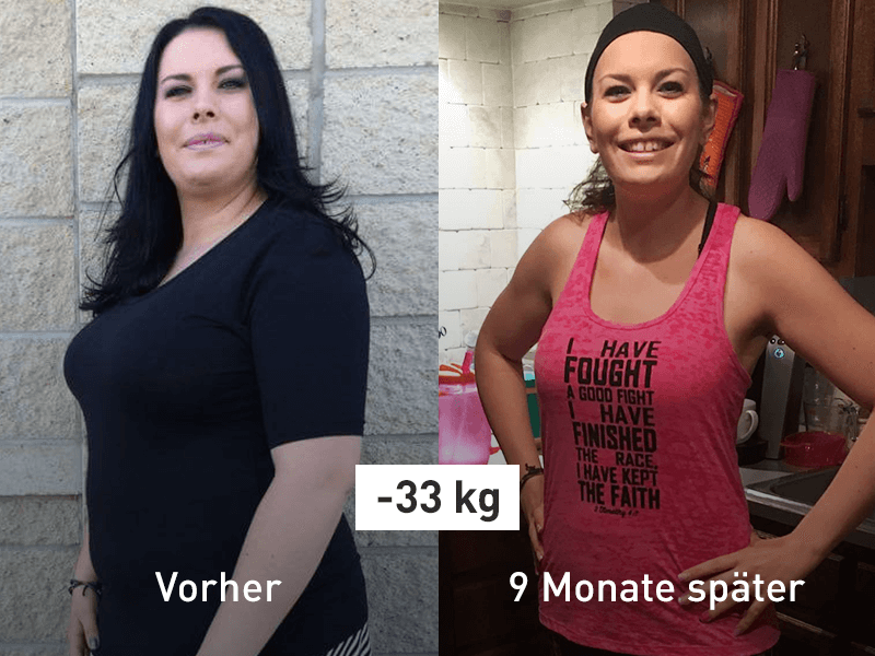 Runtastic Success Story Vorher Nacher Foto Tegan