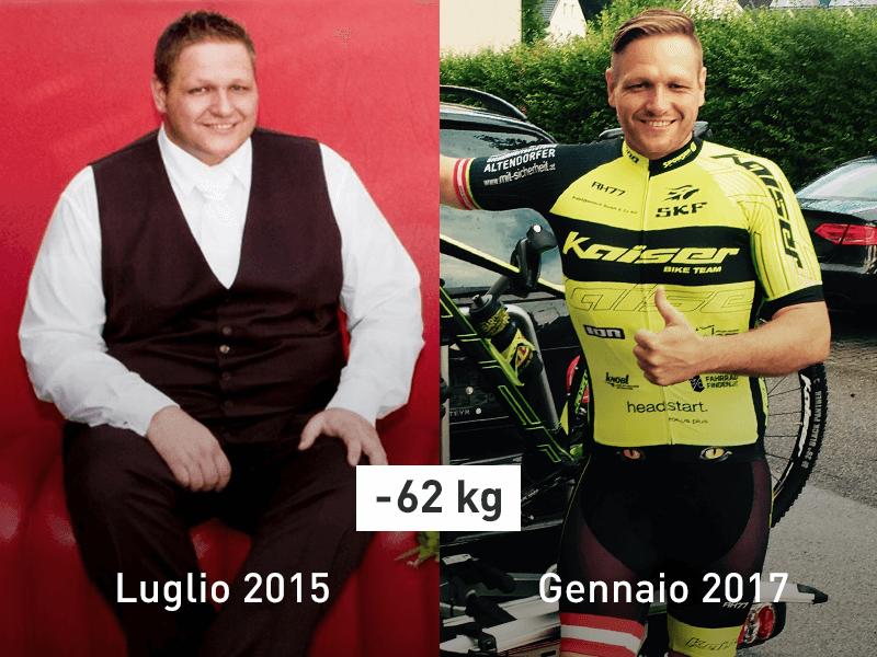 Dietmar prima e dopo