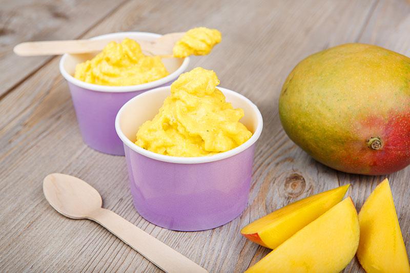 Nice cream à la mangue