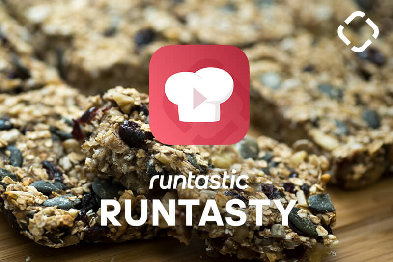 Runtasty healthy granola bar