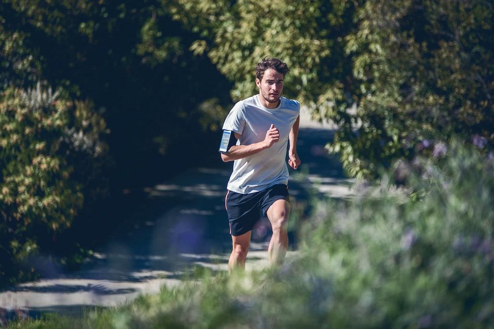 Runner running outdoor