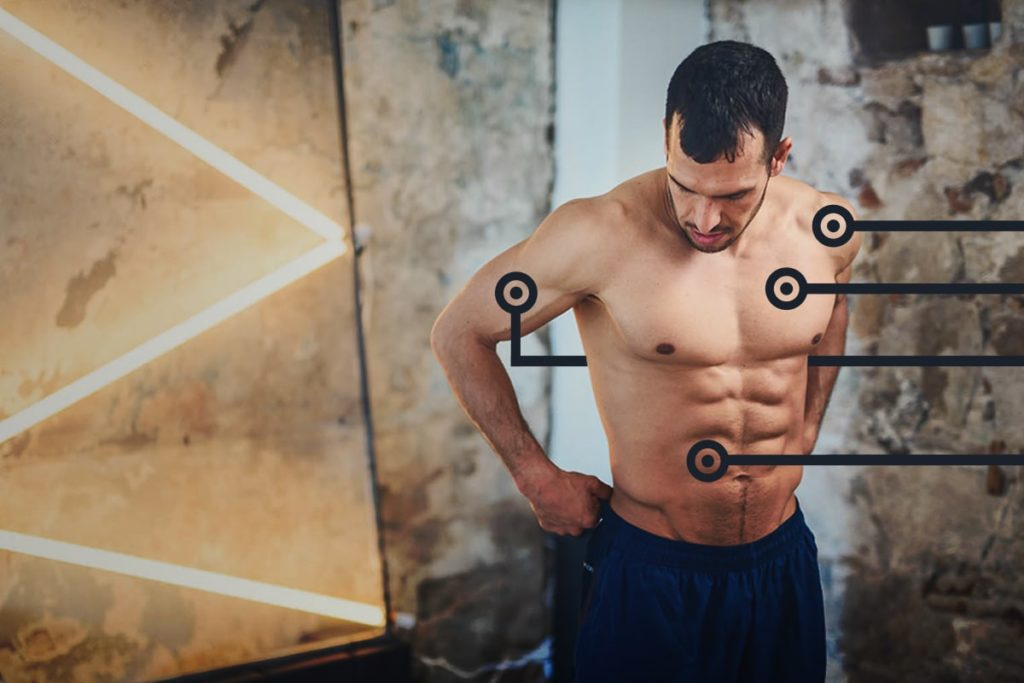 Listing of the very best body weight workout routines for every physique half