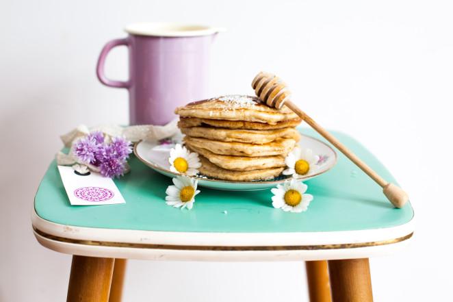 Kokosmilch-Pancakes