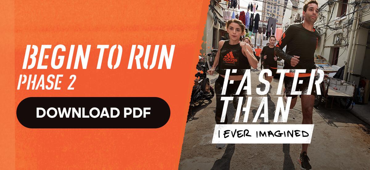 adidas Runtastic Running Training Plan: Begin to Run