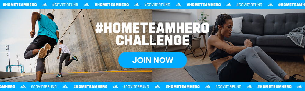 Every Active Minute Counts: Join the #HOMETEAMHERO Challenge 2