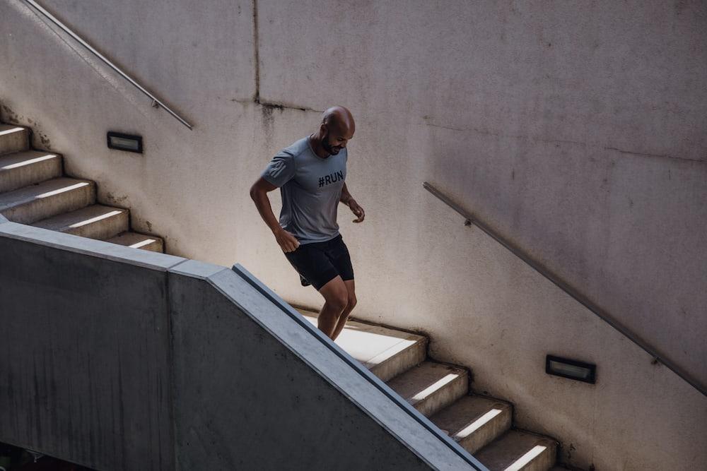 Un homme qui court