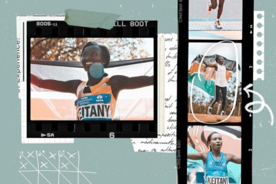 Interview with long distance runner Mary Keitany