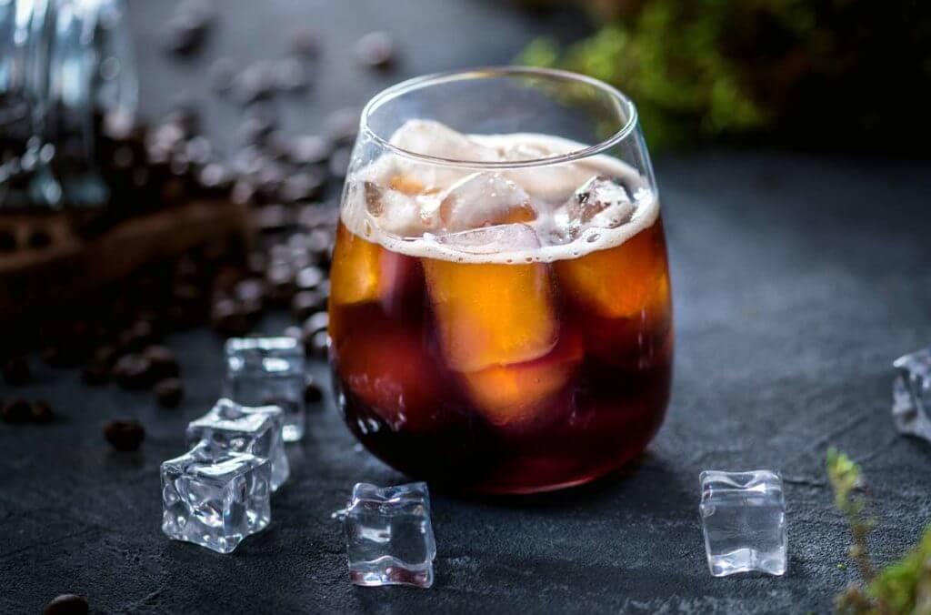 Caffe col ghiaccio