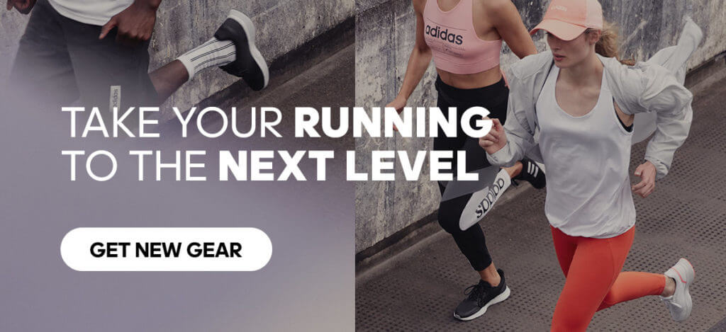 Take your running to the next level with adidas running gear.