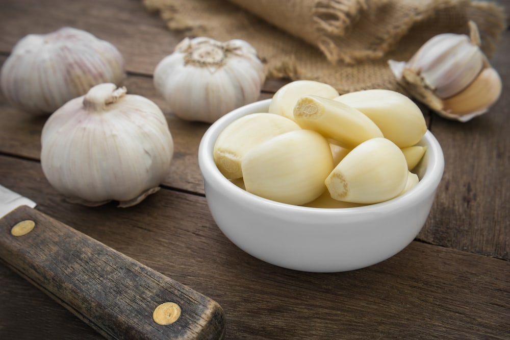 Garlic is an amazing superfood and boost your immune system.
