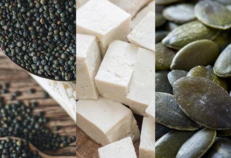 Die besten veganen Proteinquellen