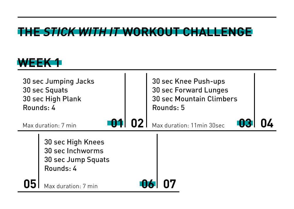 28 Day Workout Challenge For Beginners All Workouts 15 Min