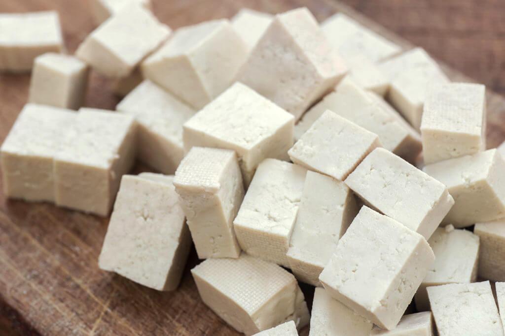 Vegan protein source: Tofu
